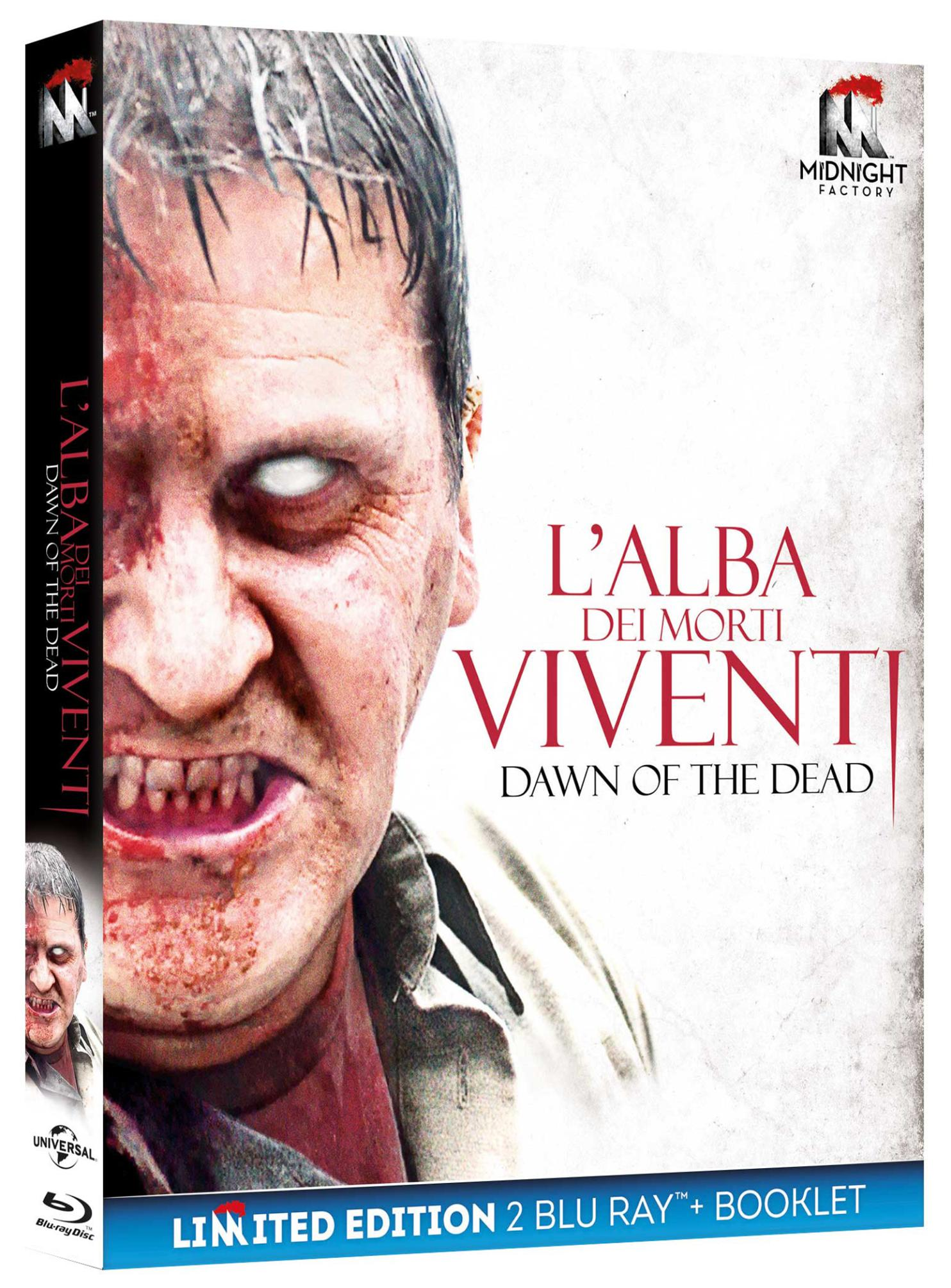 L'ALBA DEI MORTI VIVENTI (2 BLU-RAY+BOOKLET)
