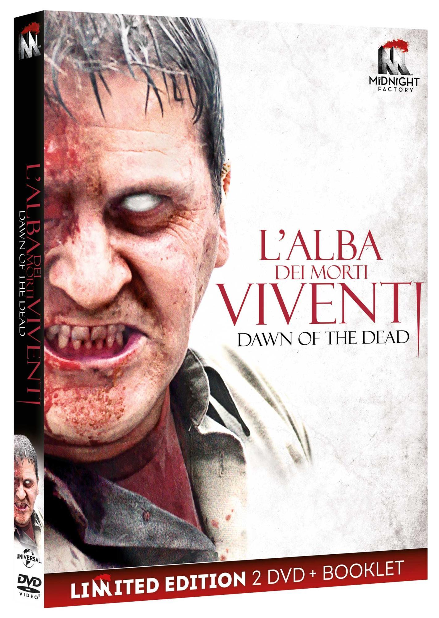 L'ALBA DEI MORTI VIVENTI (2 DVD+BOOKLET) (DVD)