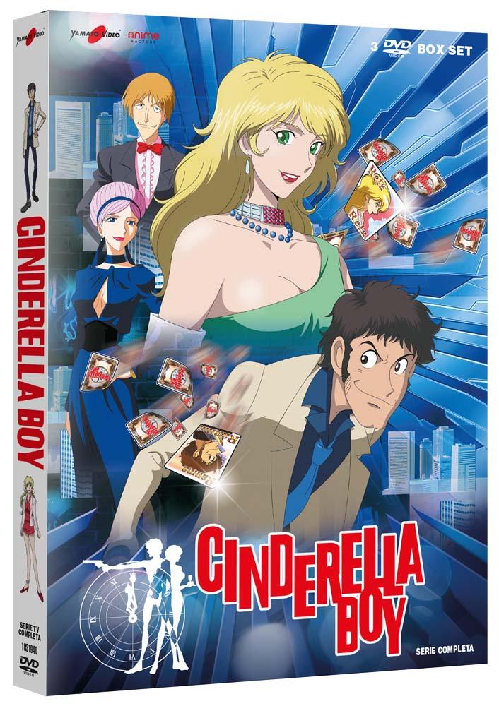COF.CINDERELLA BOY (3 DVD) (DVD)