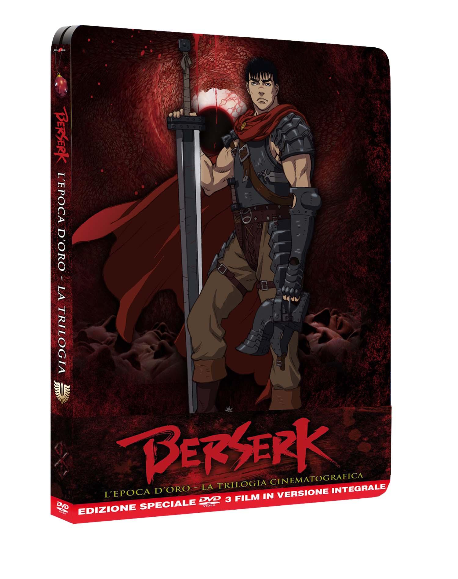 COF.BERSERK TRILOGY (3 DVD) (STEELBOOK) (DVD)