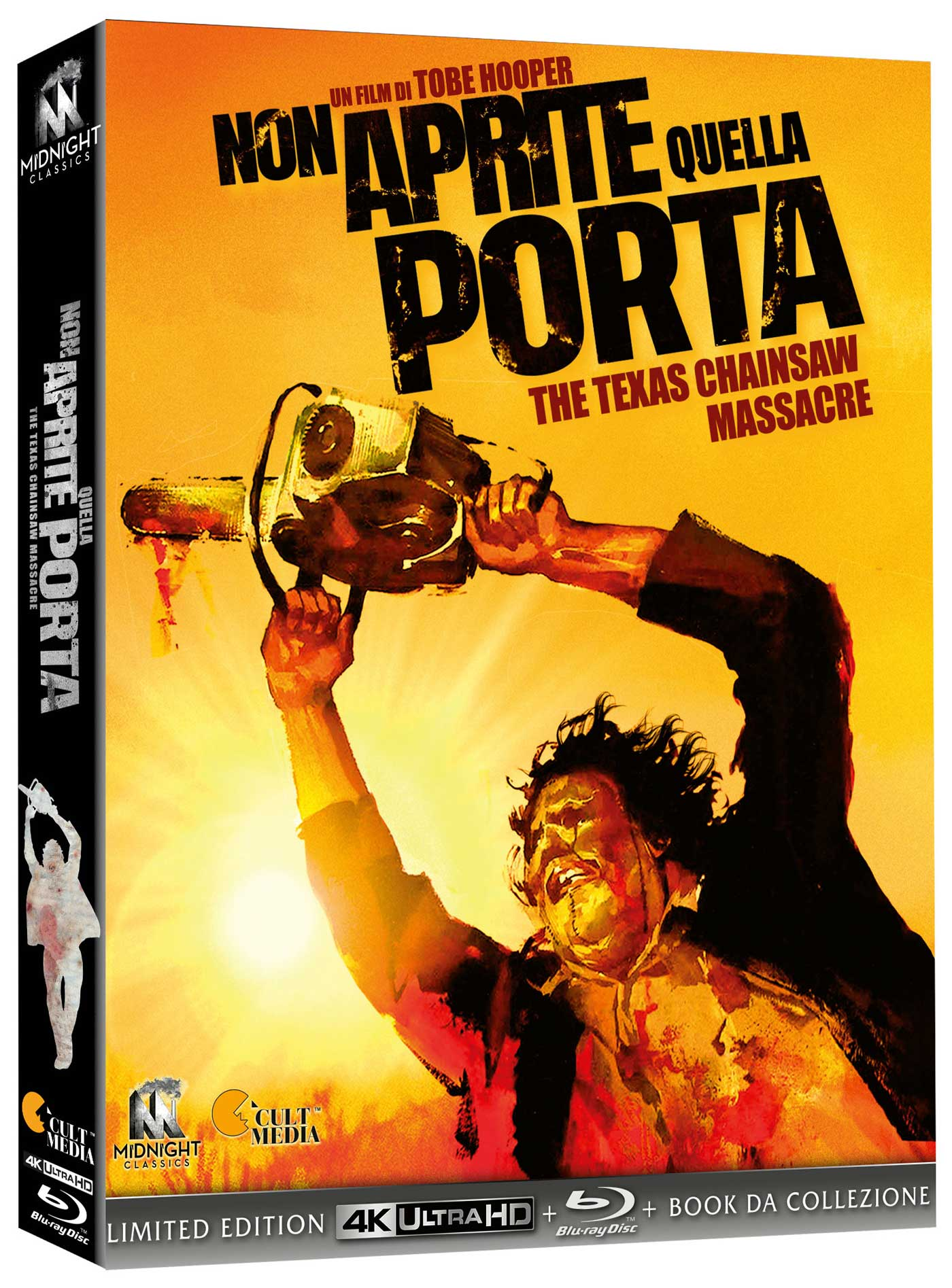 COF.NON APRITE QUELLA PORTA (LTD) (BLU-RAY 4K ULTRA HD+2 BLU-RAY