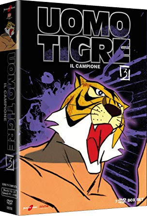COF.L'UOMO TIGRE - IL CAMPIONE #03 (7 DVD) (DVD)