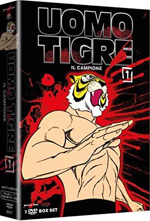 COF.L'UOMO TIGRE - IL CAMPIONE #01 (7 DVD) (DVD)