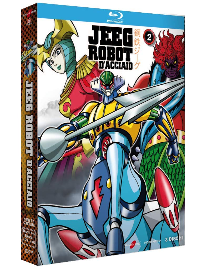 COF.JEEG ROBOT D'ACCIAIO #02 (3 BLU-RAY)