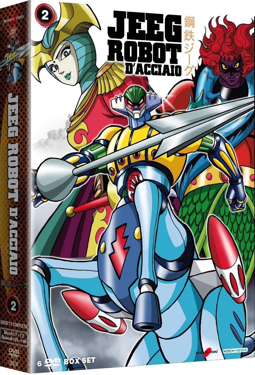 COF.JEEG ROBOT D'ACCIAIO #02 (6 DVD) (DVD)