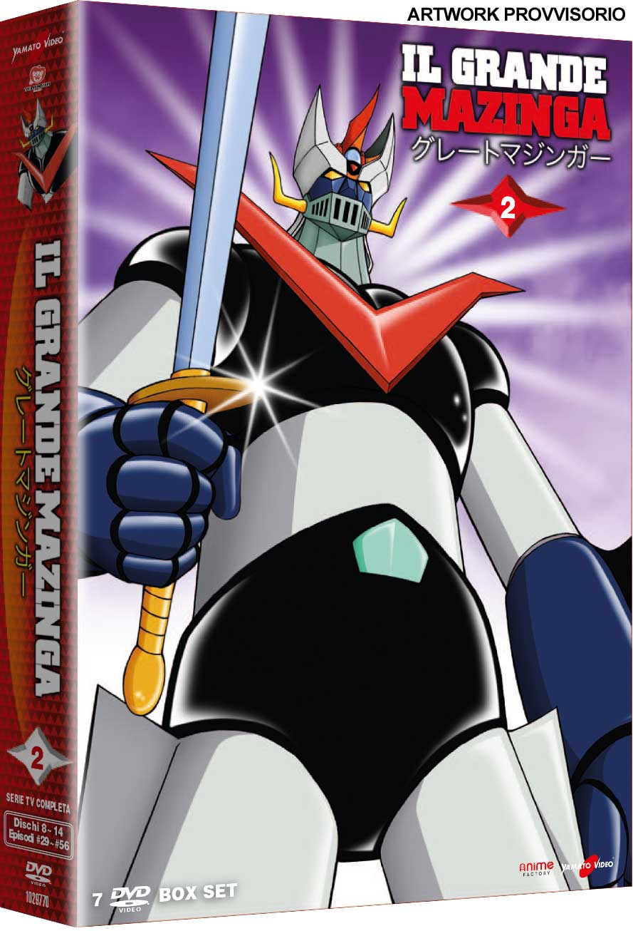 COF.IL GRANDE MAZINGA #02 (7 DVD) (DVD)