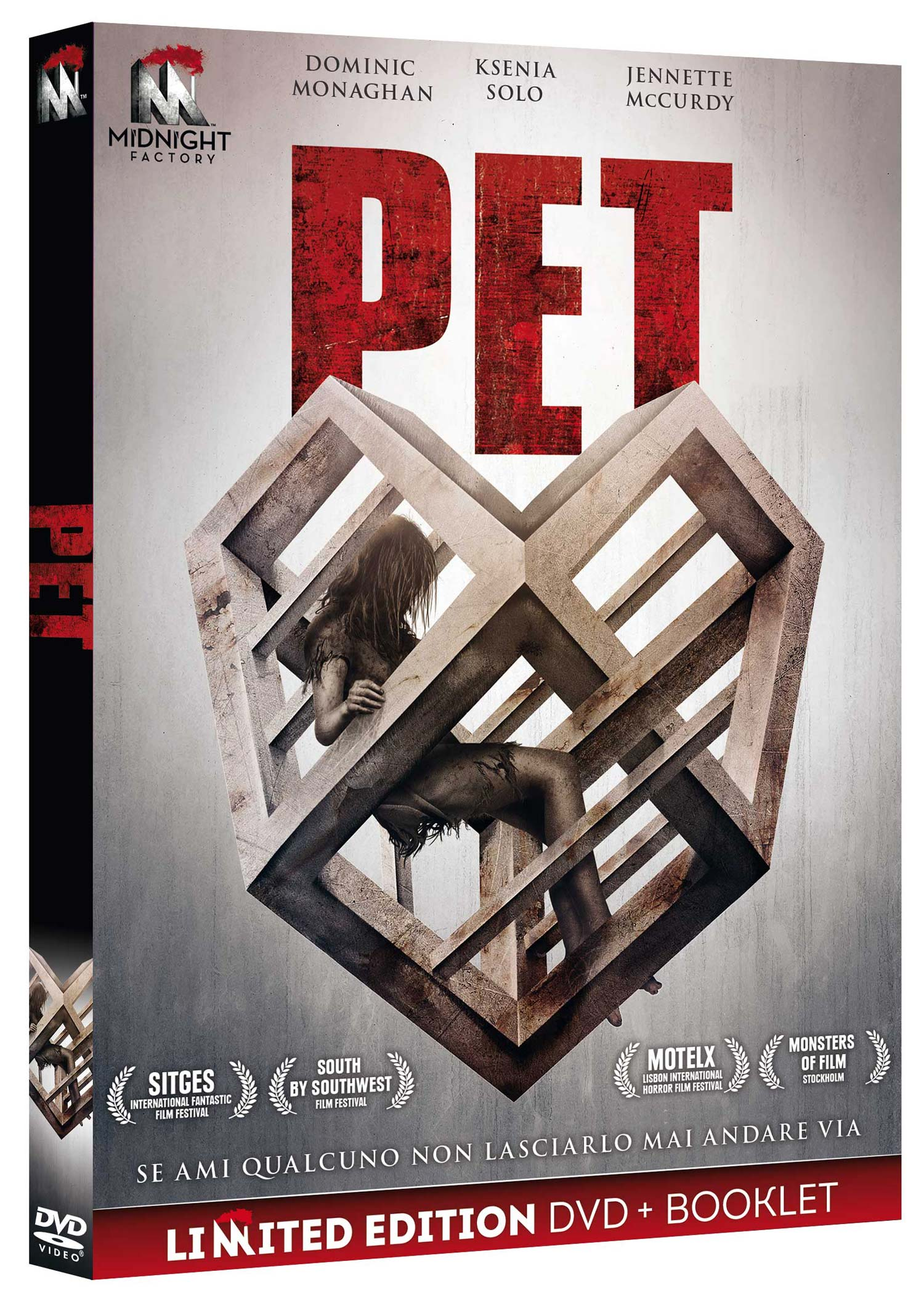 PET (DVD+BOOKLET) (DVD)