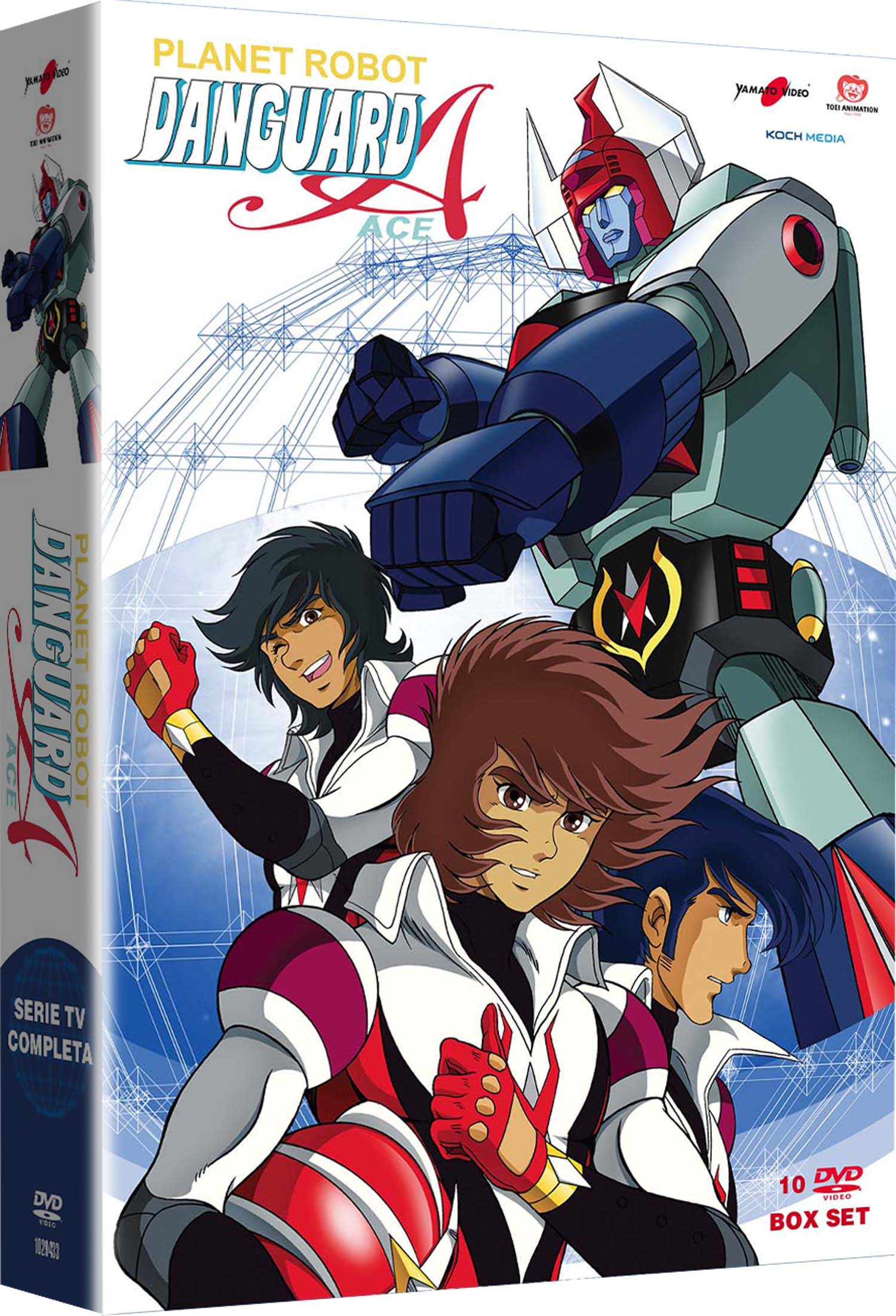 COF.PLANET ROBOT DANGUARD (10 DVD) (DVD)