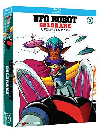 COF.UFO ROBOT GOLDRAKE #03 (3 BLU-RAY)