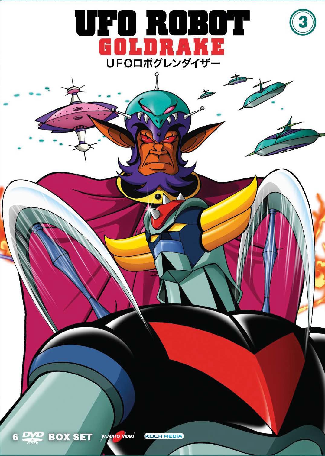 COF.UFO ROBOT GOLDRAKE #03 (6 DVD) (DVD)