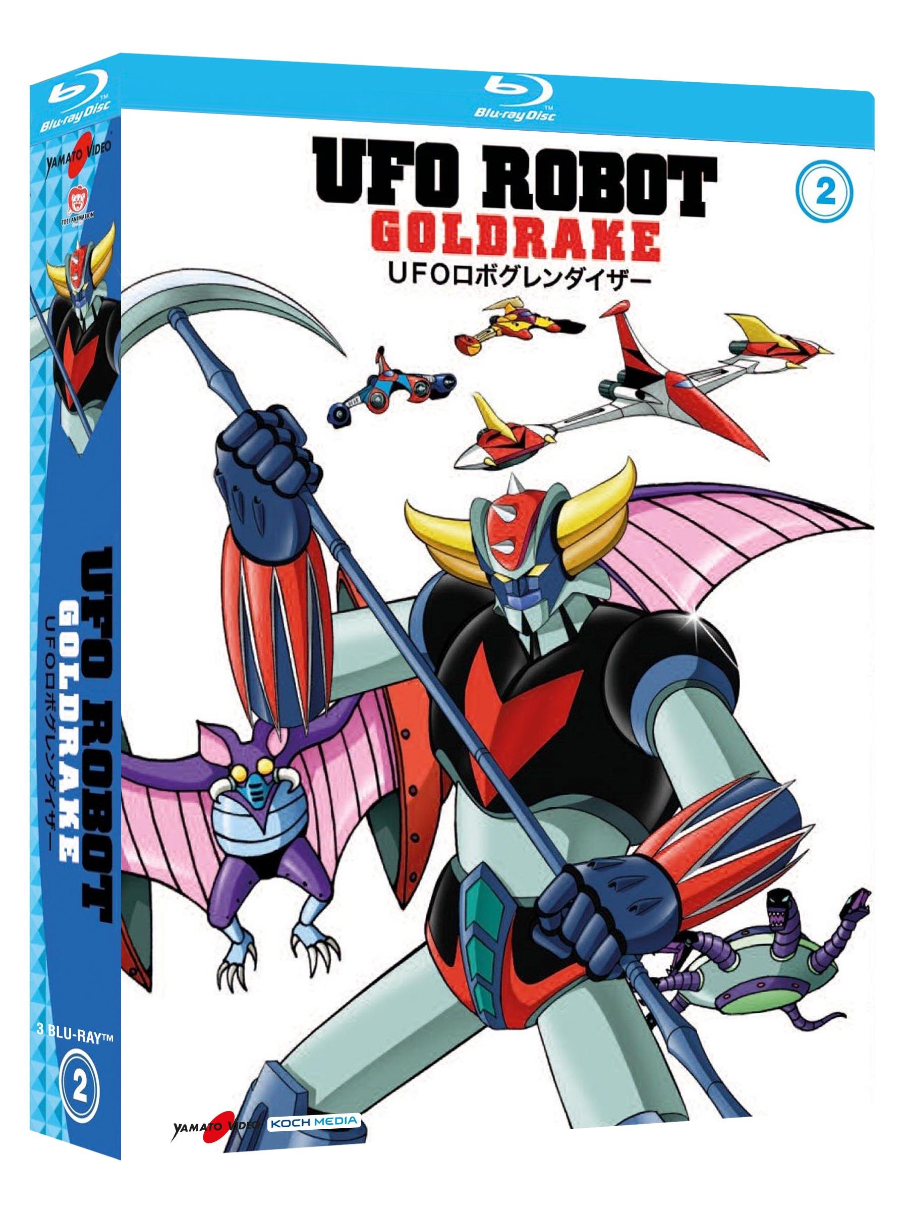 COF.UFO ROBOT GOLDRAKE #02 (3 BLU-RAY)