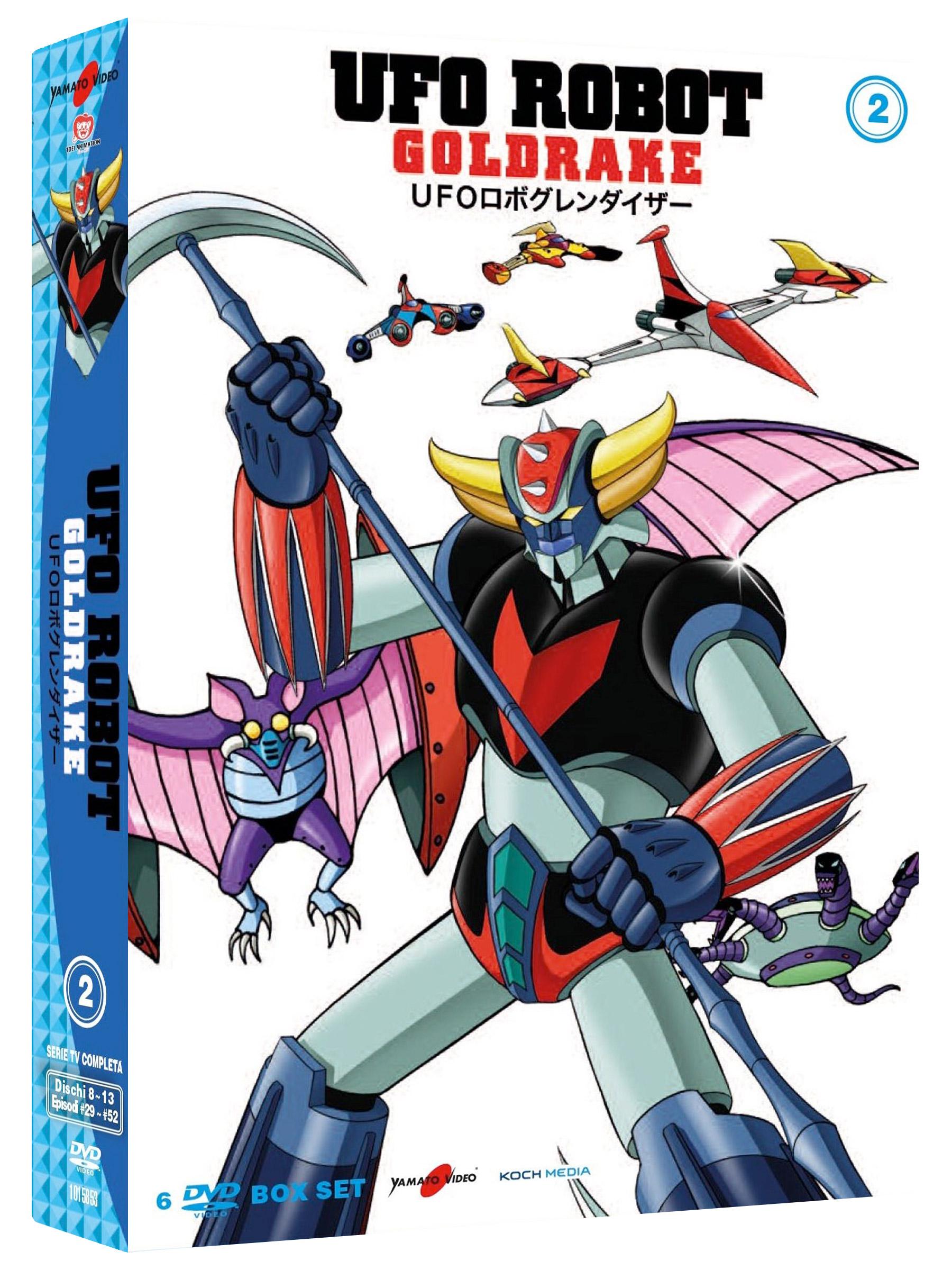 COF.UFO ROBOT GOLDRAKE #02 (6 DVD) (DVD)