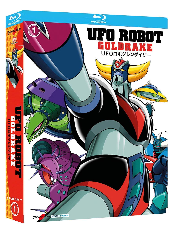 COF.UFO ROBOT GOLDRAKE #01 (5 BLU-RAY)