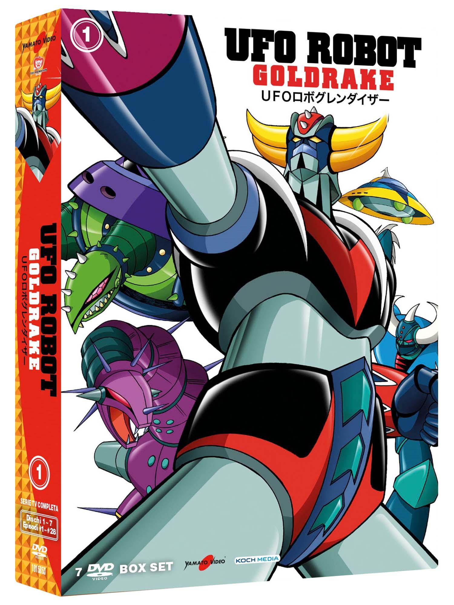 COF.UFO ROBOT GOLDRAKE #01 (7 DVD) (DVD)