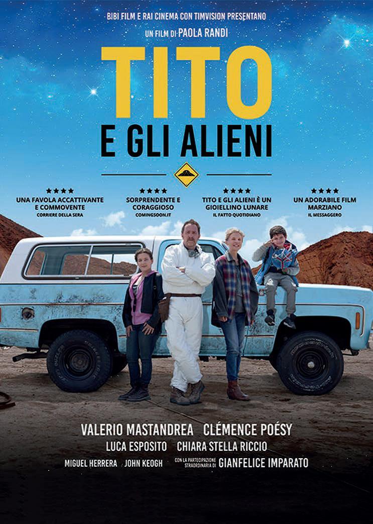 TITO E GLI ALIENI - BLU RAY