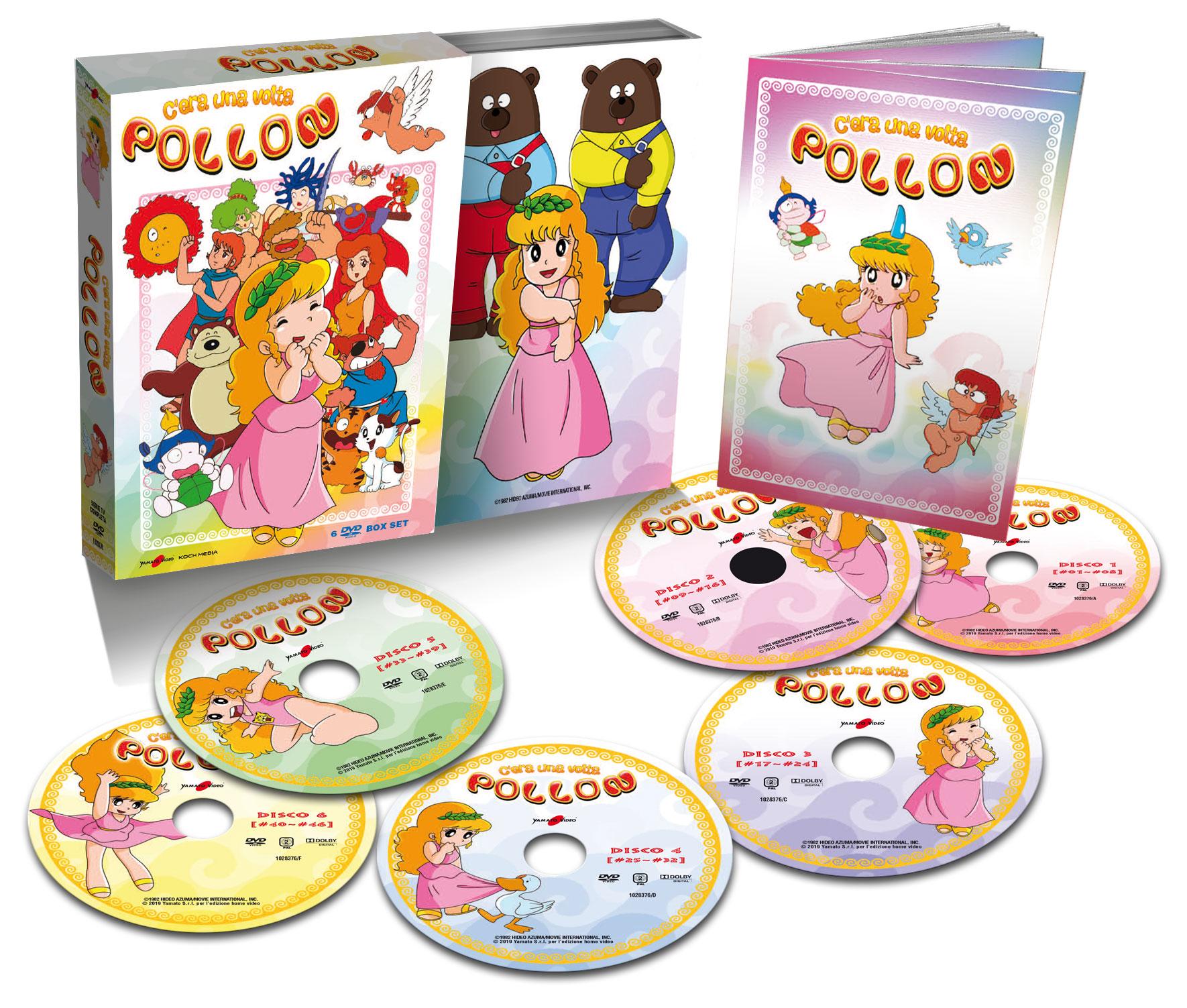 COF.C'ERA UNA VOLTA POLLON (6 DVD) (DVD)