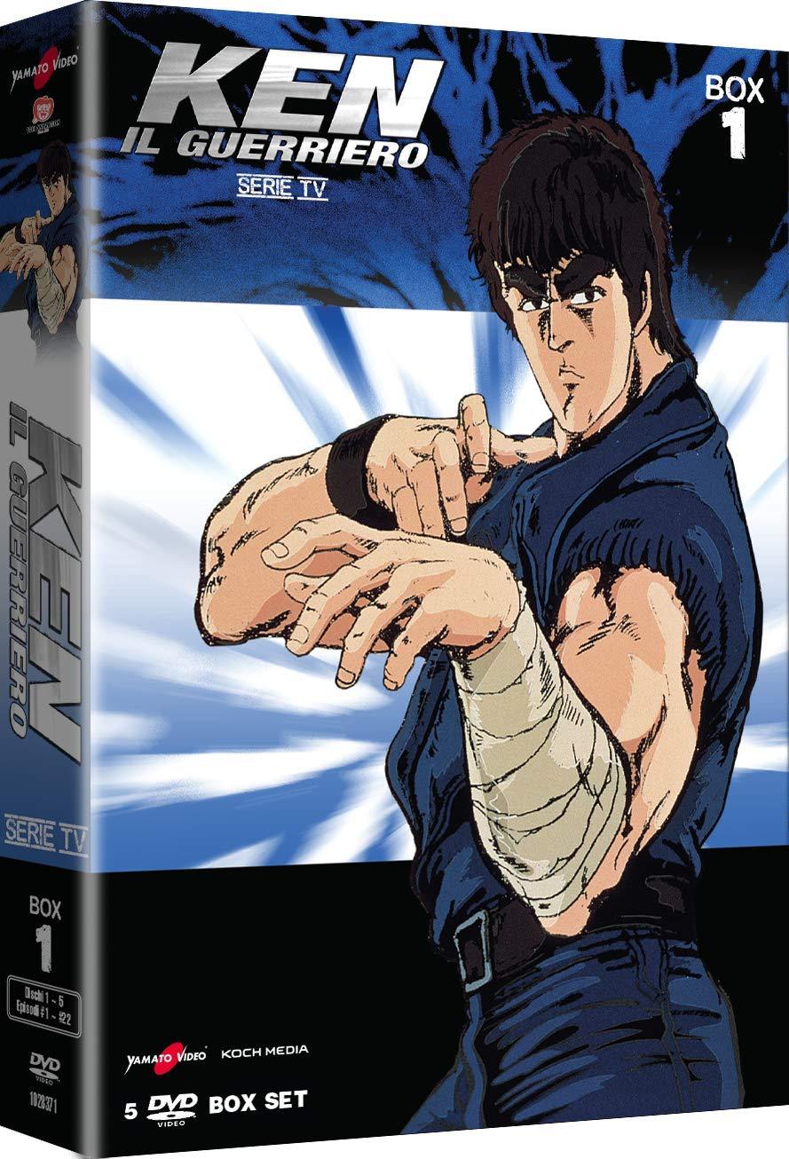 COF.KEN IL GUERRIERO - LA SERIE PARTE 01 (5 DVD) (DVD)