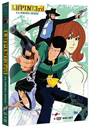 COF.LUPIN III - STAGIONE 01 (5 DVD) (DVD)