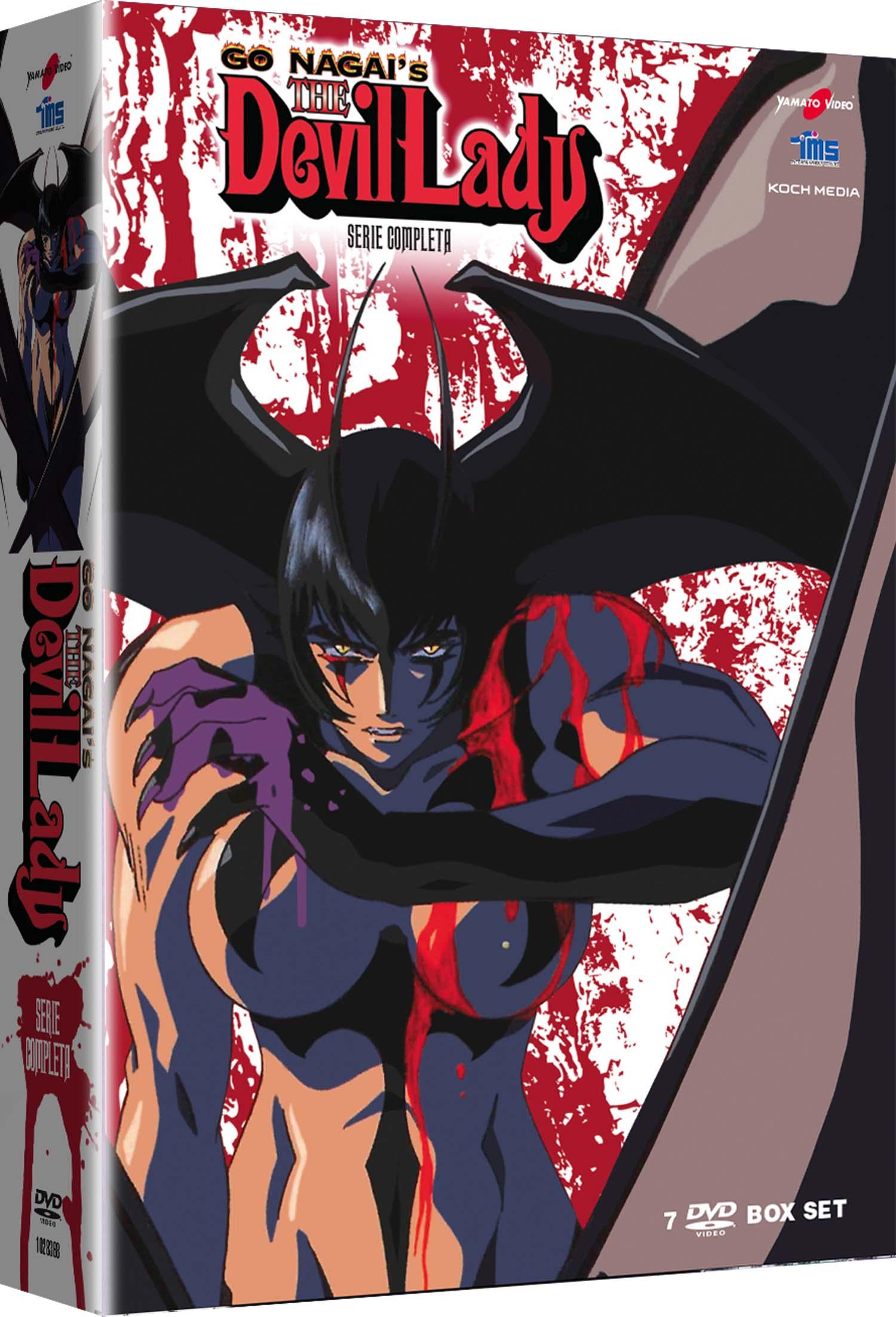 COF.GO NAGAI'S DEVIL LADY - SERIE COMPLETA (7 DVD) (DVD)