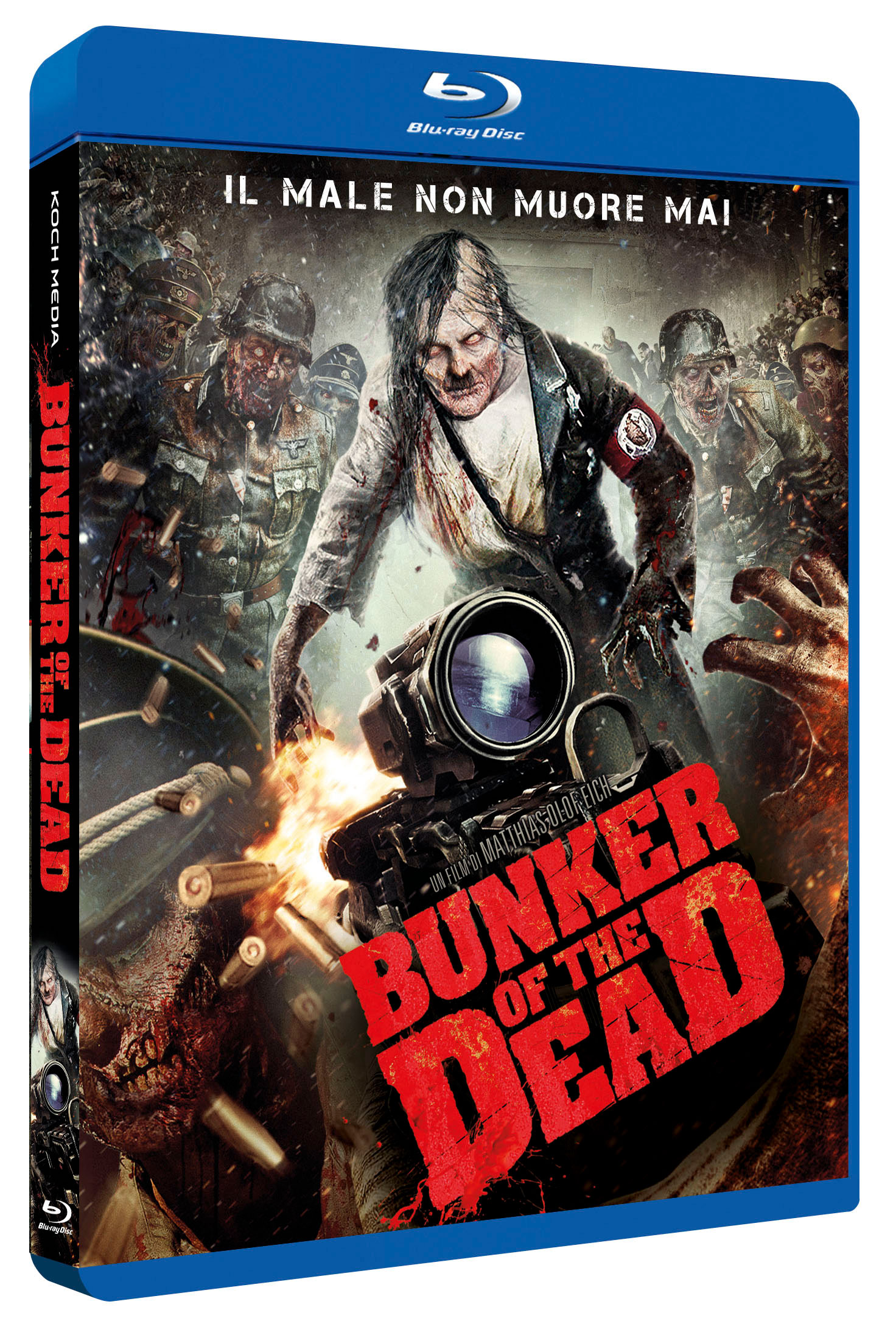 BUNKER OF THE DEAD - BLU RAY