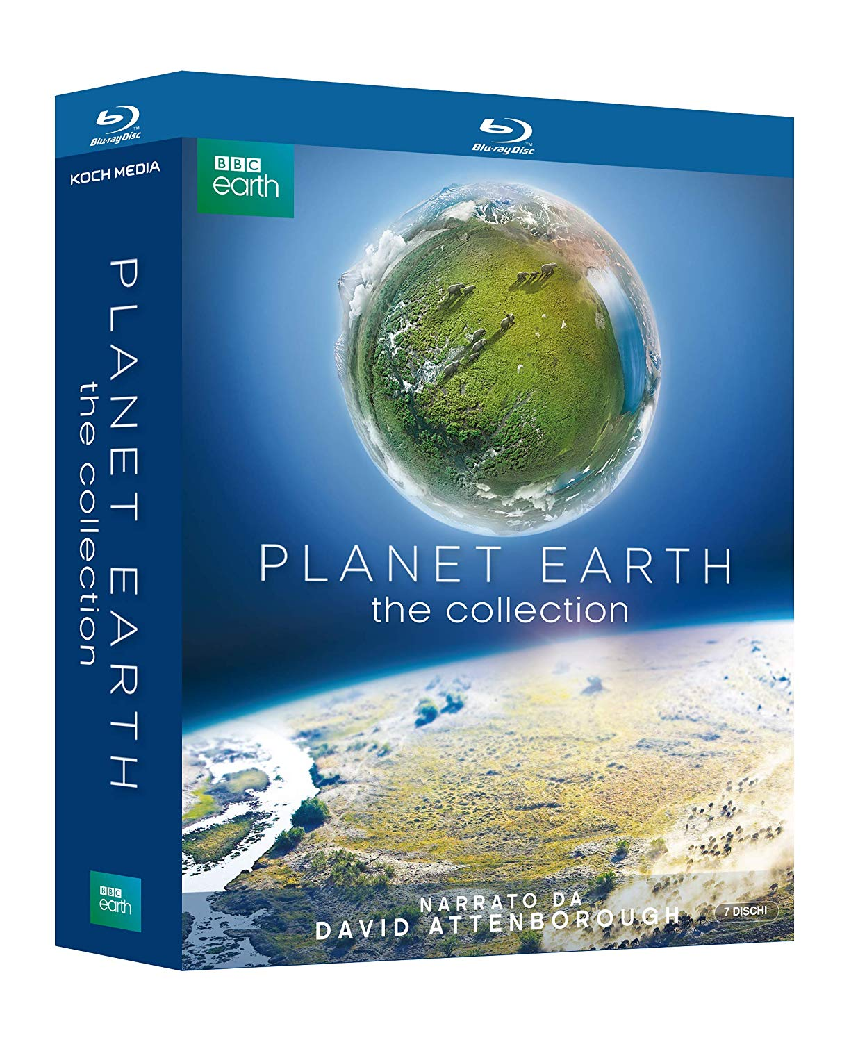 COF.PLANET EARTH 1+2 (7 BLU-RAY)