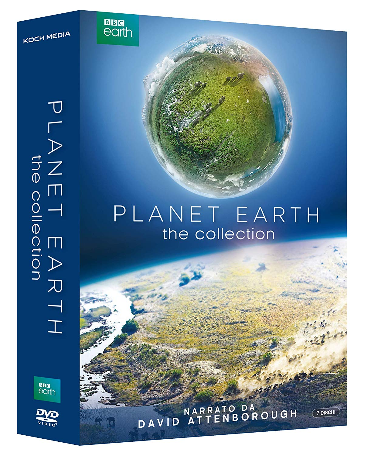COF.PLANET EARTH 1+2 (7 DVD) (DVD)