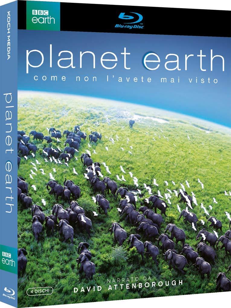 COF.PLANET EARTH (4 BLU-RAY)