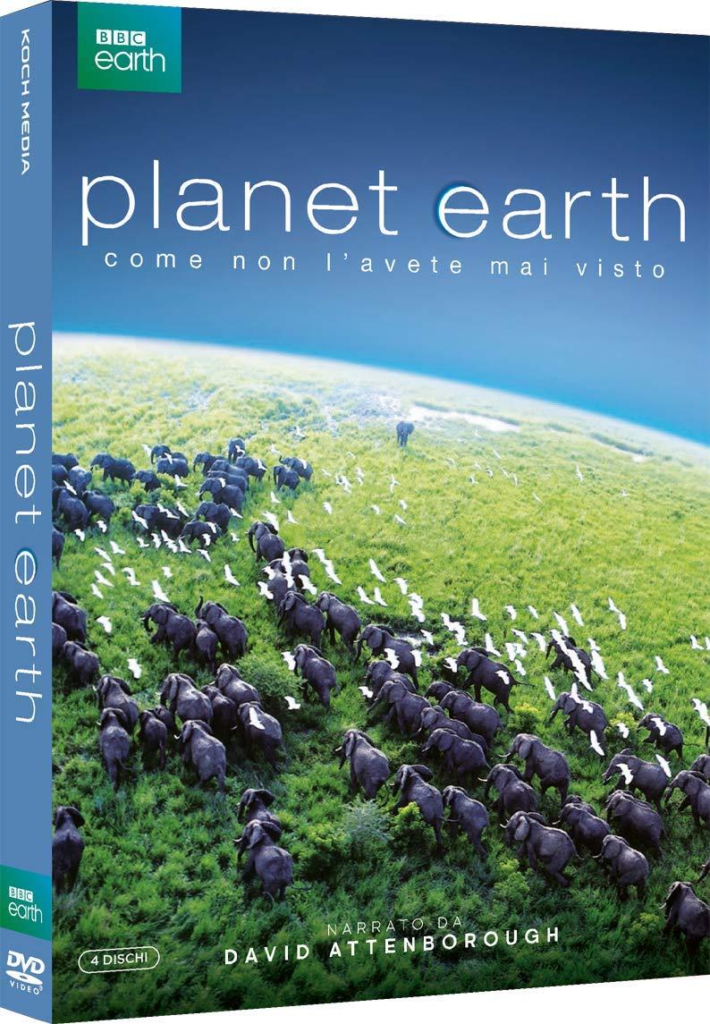 COF.PLANET EARTH (4 DVD) (DVD)