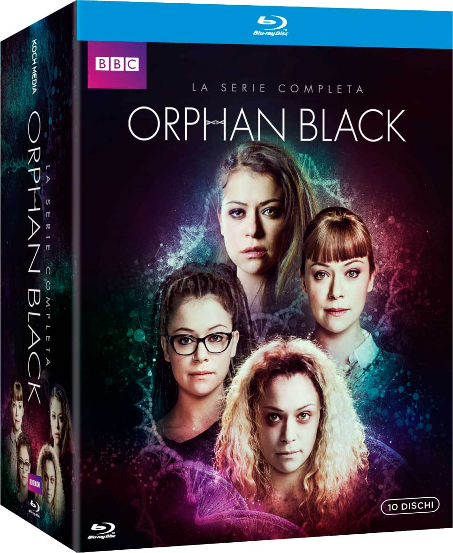 COF.ORPHAN BLACK - LA SERIE COMPLETA (15 BLU-RAY)