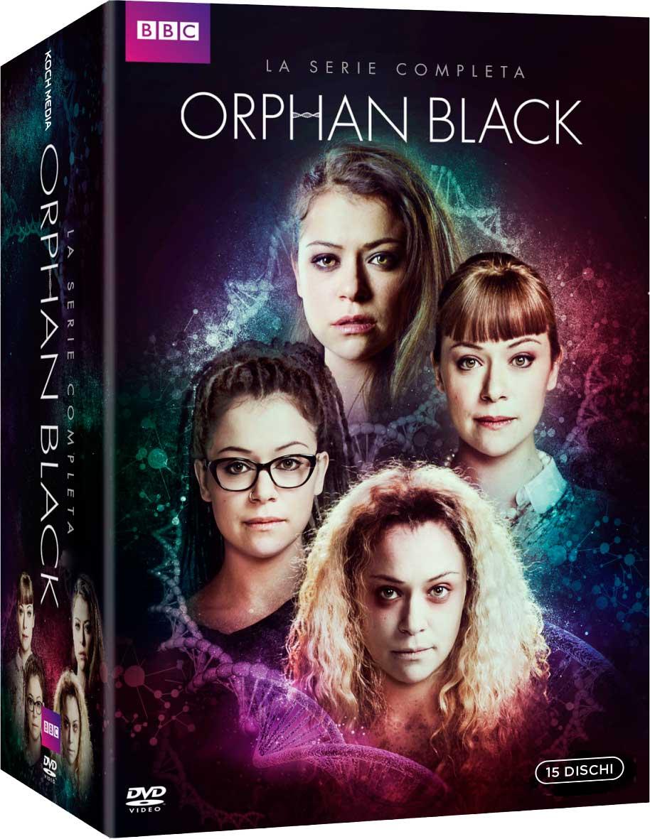 COF.ORPHAN BLACK - LA SERIE COMPLETA (15 DVD) (DVD)