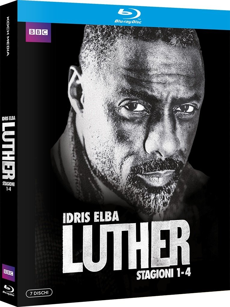 COF.LUTHER - STAGIONI 01-04 (5 BLU-RAY)