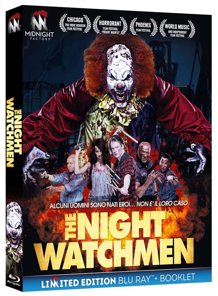 THE NIGHT WATCHMEN (EDIZIONE LIMITATA) (BLU-RAY+BOOKLET)
