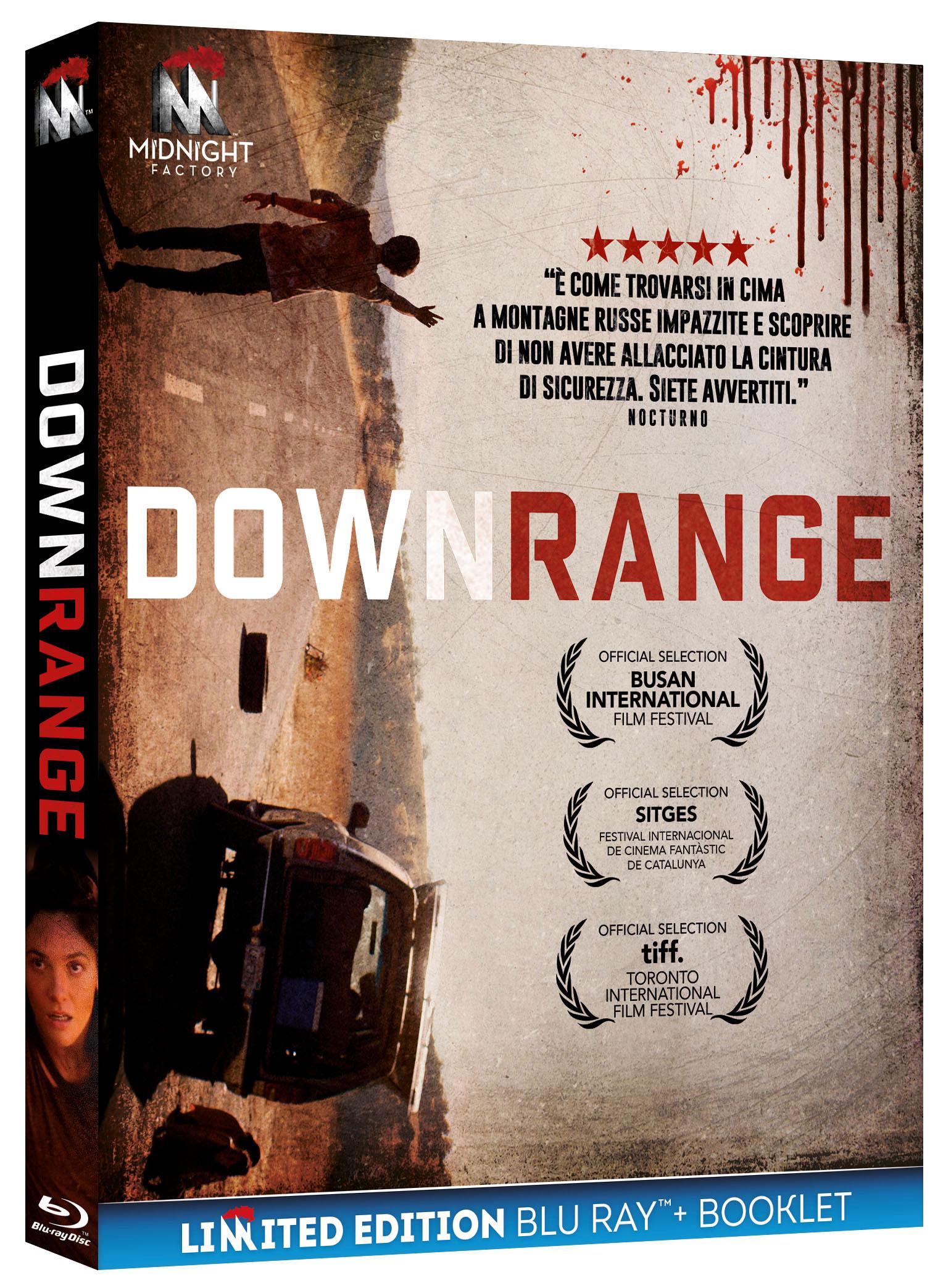 DOWNRANGE (LTD) (BLU-RAY+BOOKLET)