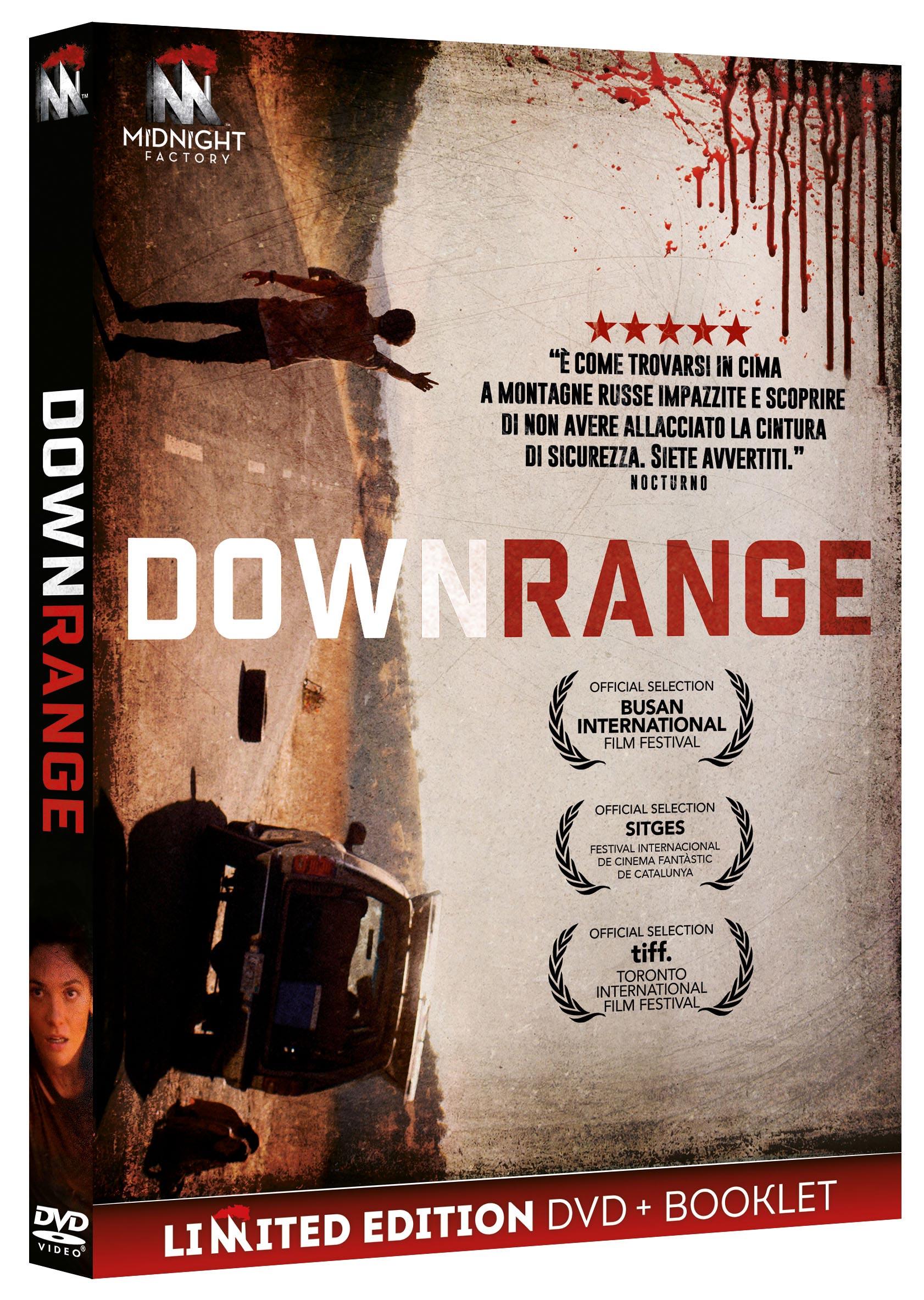DOWNRANGE (LTD) (DVD+BOOKLET) (DVD)