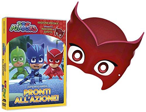 PJ MASKS - SUPER PIGIAMINI PRONTI ALL'AZIONE! (GUFETTA EDITION) (DVD+MASCHERA) (DVD)