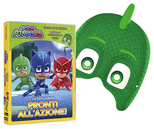 PJ MASKS - SUPER PIGIAMINI PRONTI ALL'AZIONE! (GECO EDITION) (DVD+MASCHERA) (DVD)