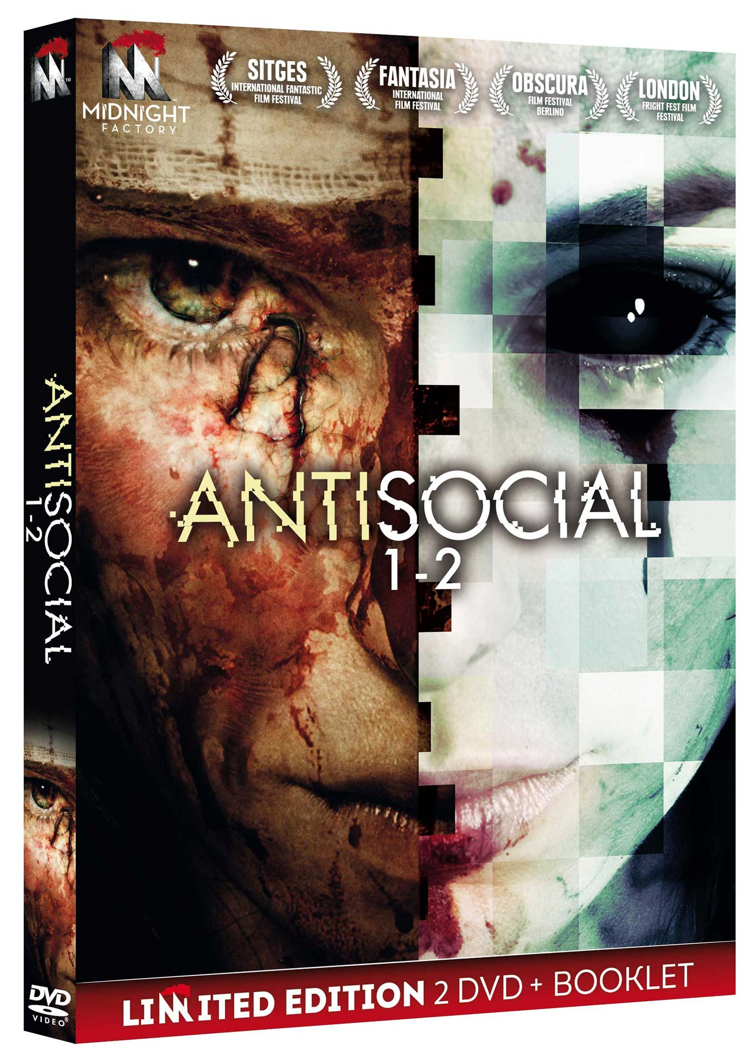 ANTISOCIAL 1-2 (2 DVD+BOOKLET) (DVD)