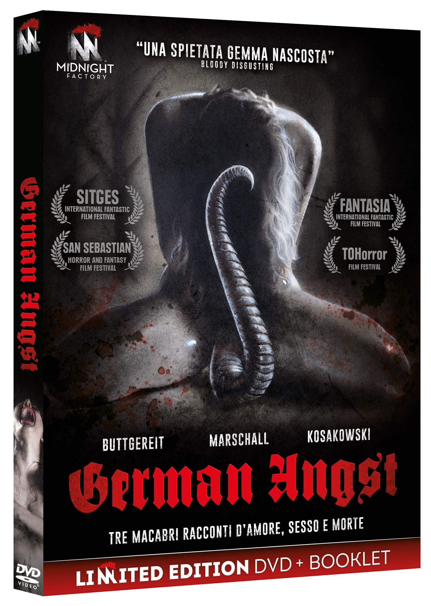 GERMAN ANGST (LTD) (DVD+BOOKLET) (DVD)