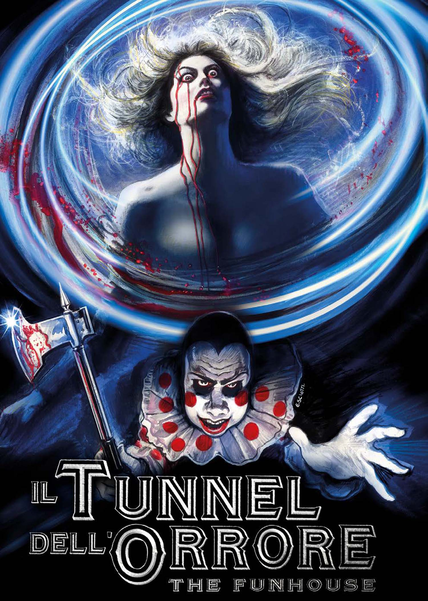 COF.IL TUNNEL DELL'ORRORE ) - THE FUNHOUSE (EDIZIONE LIMITATA) (3 BLU-RAY)