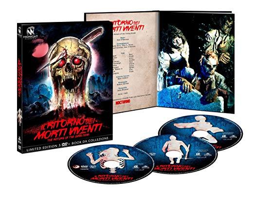 COF.IL RITORNO DEI MORTI VIVENTI (LTD) (3 DVD+BOOKLET) (DVD)