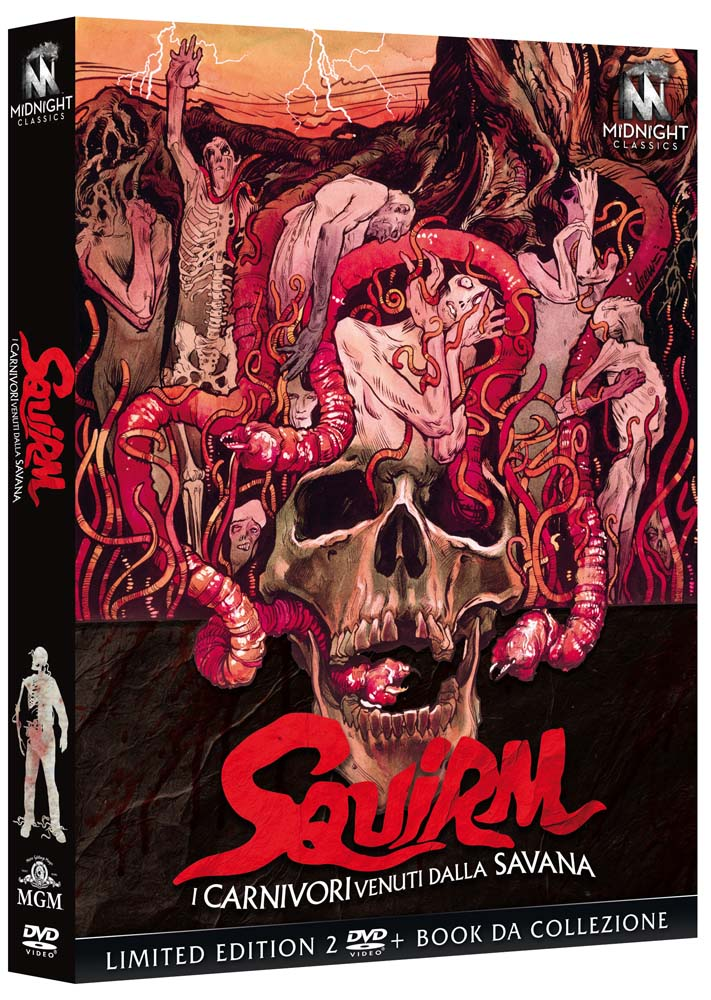 COF.I CARNIVORI VENUTI DALLA SAVANA - SQUIRM (LTD) (2 DVD+BOOKLE