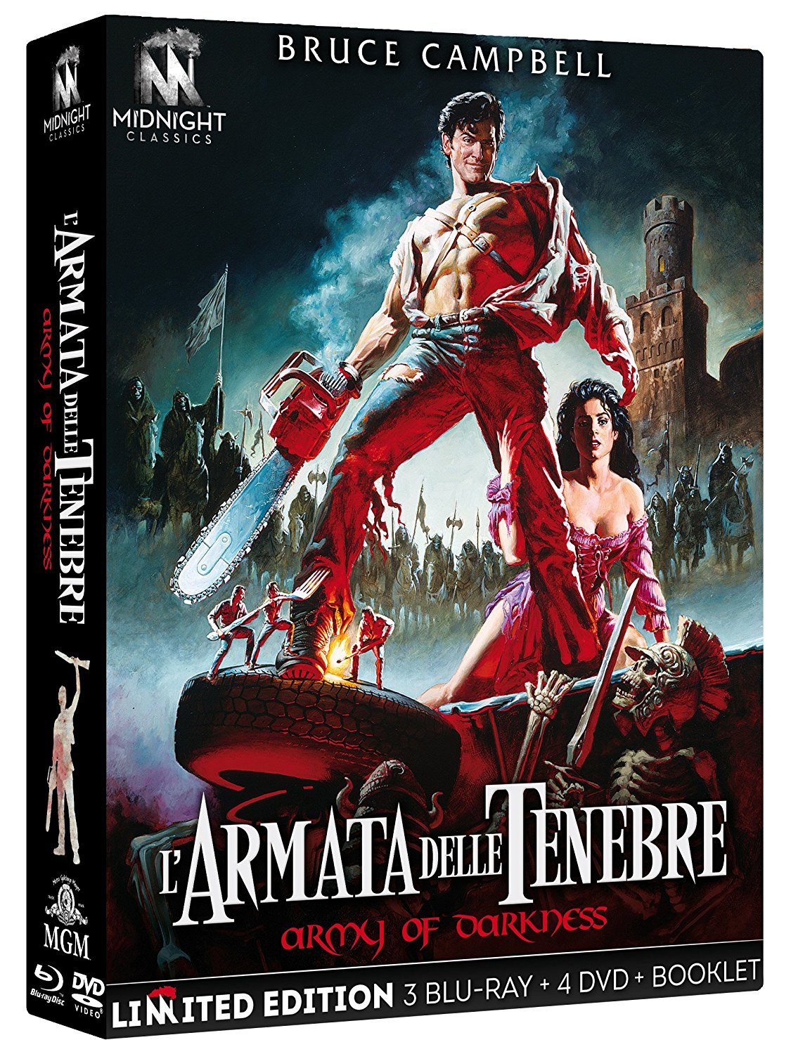 L'ARMATA DELLE TENEBRE (LIMITED EDITION) (3 BLU-RAY+4 DVD+BOOKLET)
