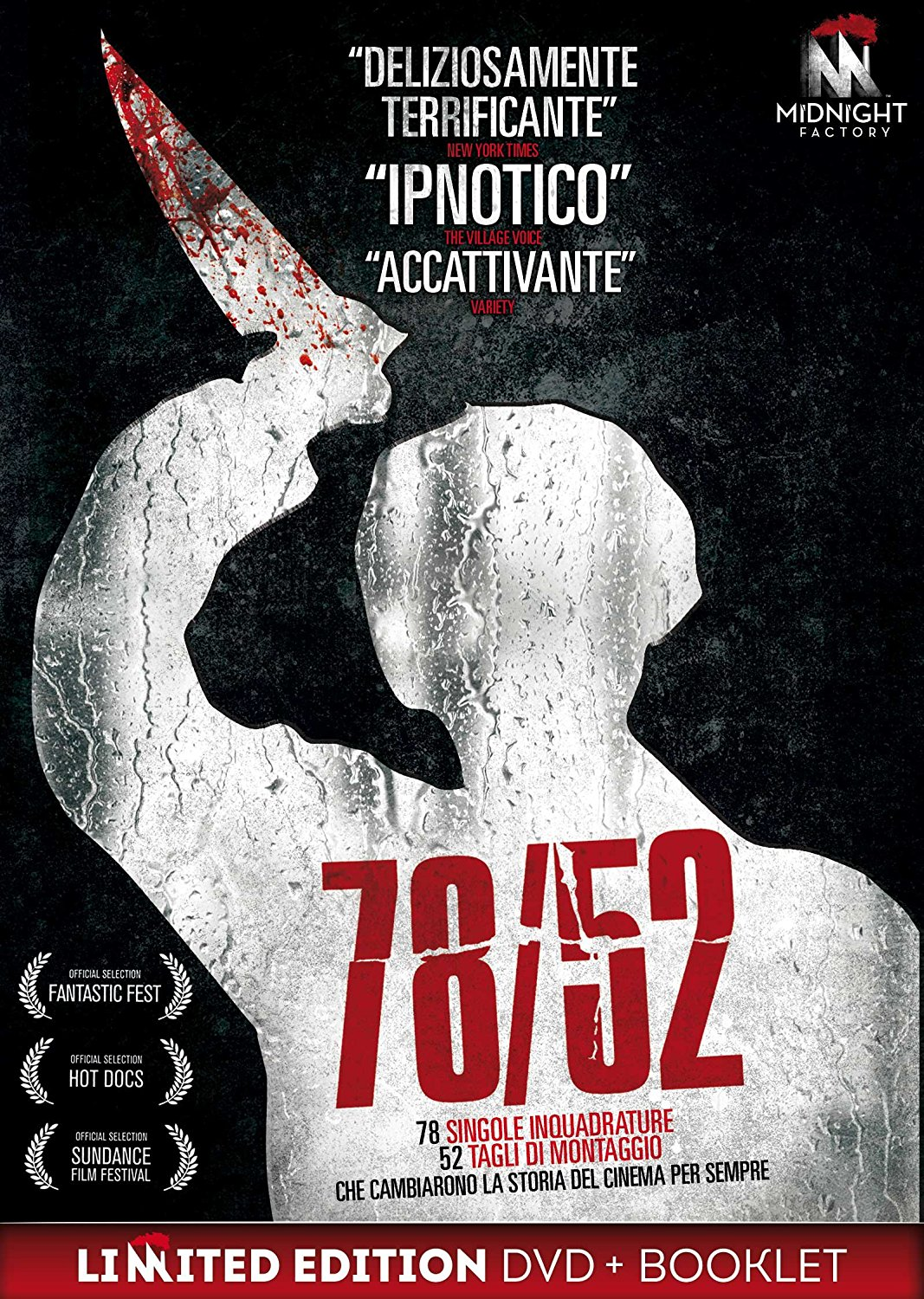 78/52 (LTD EDITION) (DVD+BOOKLET) (DVD)