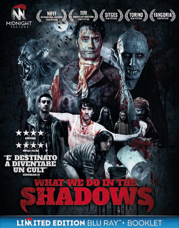 WHAT WE DO IN THE SHADOWS (BLU-RAY+BOOKLET)