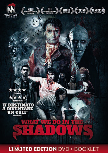 WHAT WE DO IN THE SHADOWS (DVD+BOOKLET) (DVD)