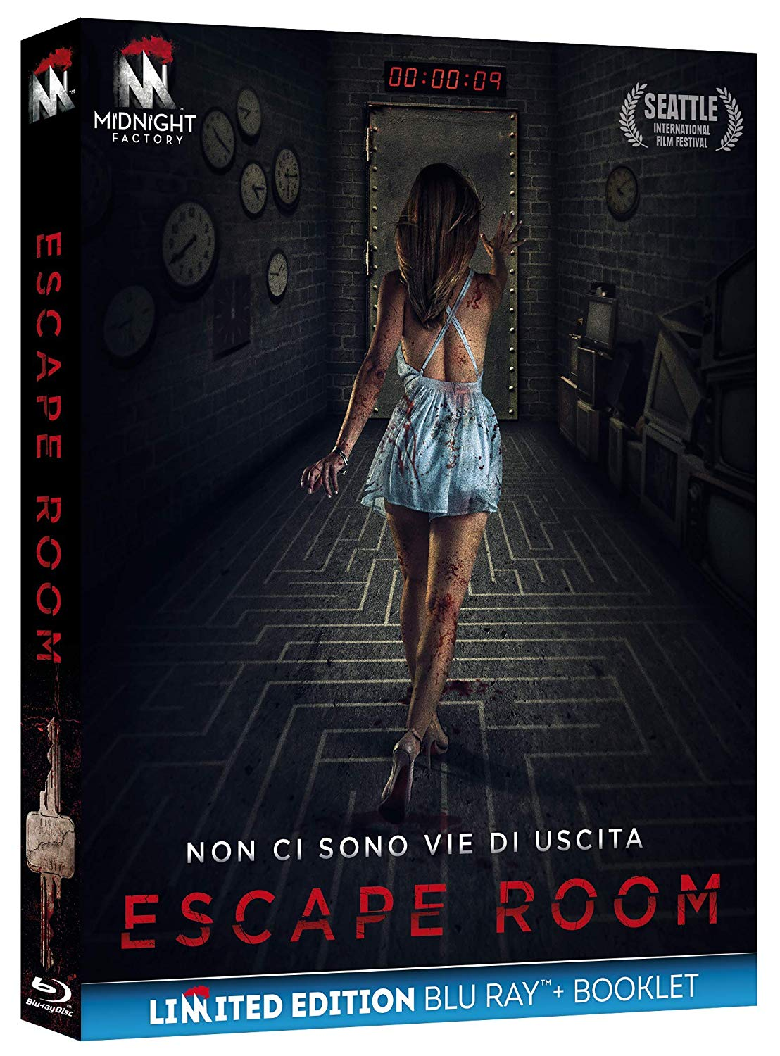 ESCAPE ROOM (EDIZIONE LIMITATA+BOOKLET) - BLU RAY