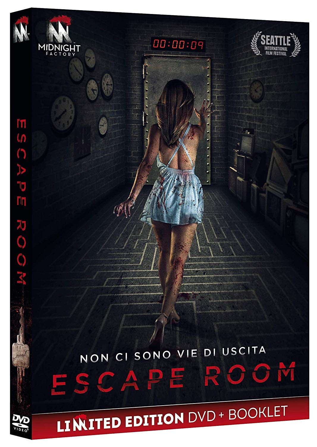 ESCAPE ROOM (EDIZIONE LIMITATA) (DVD+BOOKLET) (DVD)