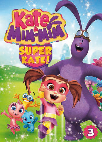 KATE & MIM-MIM - SUPER KATE (DVD)