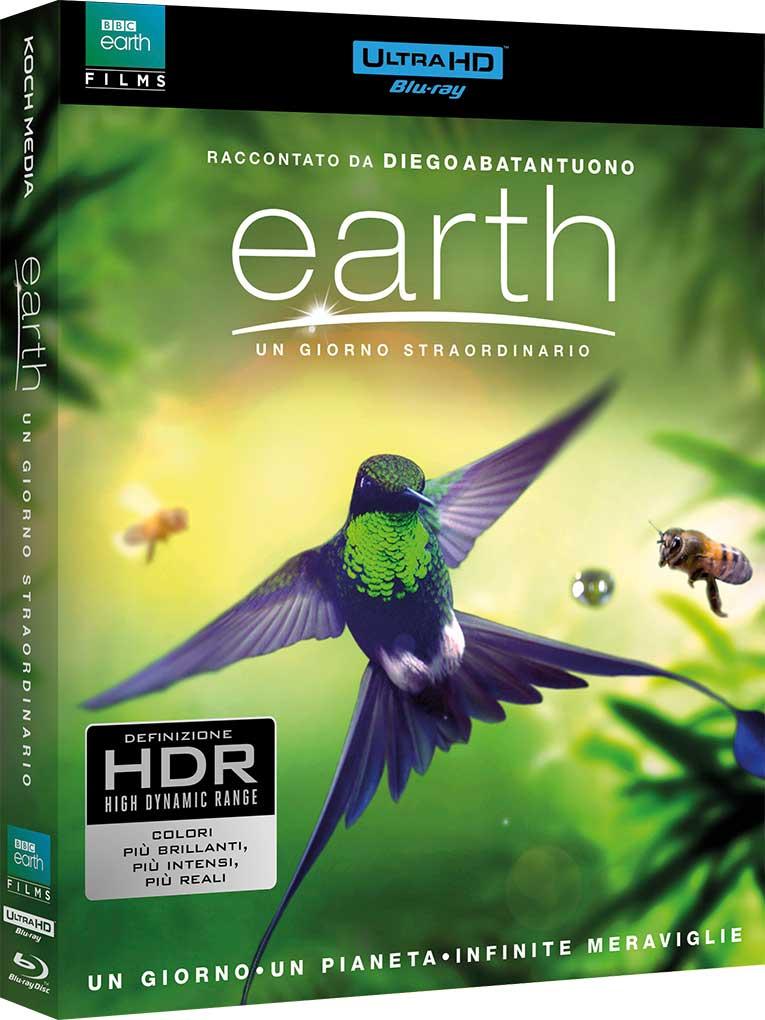 EARTH - UN GIORNO STRAORDINARIO (BLU-RAY 4K UHD+BLU-RAY)