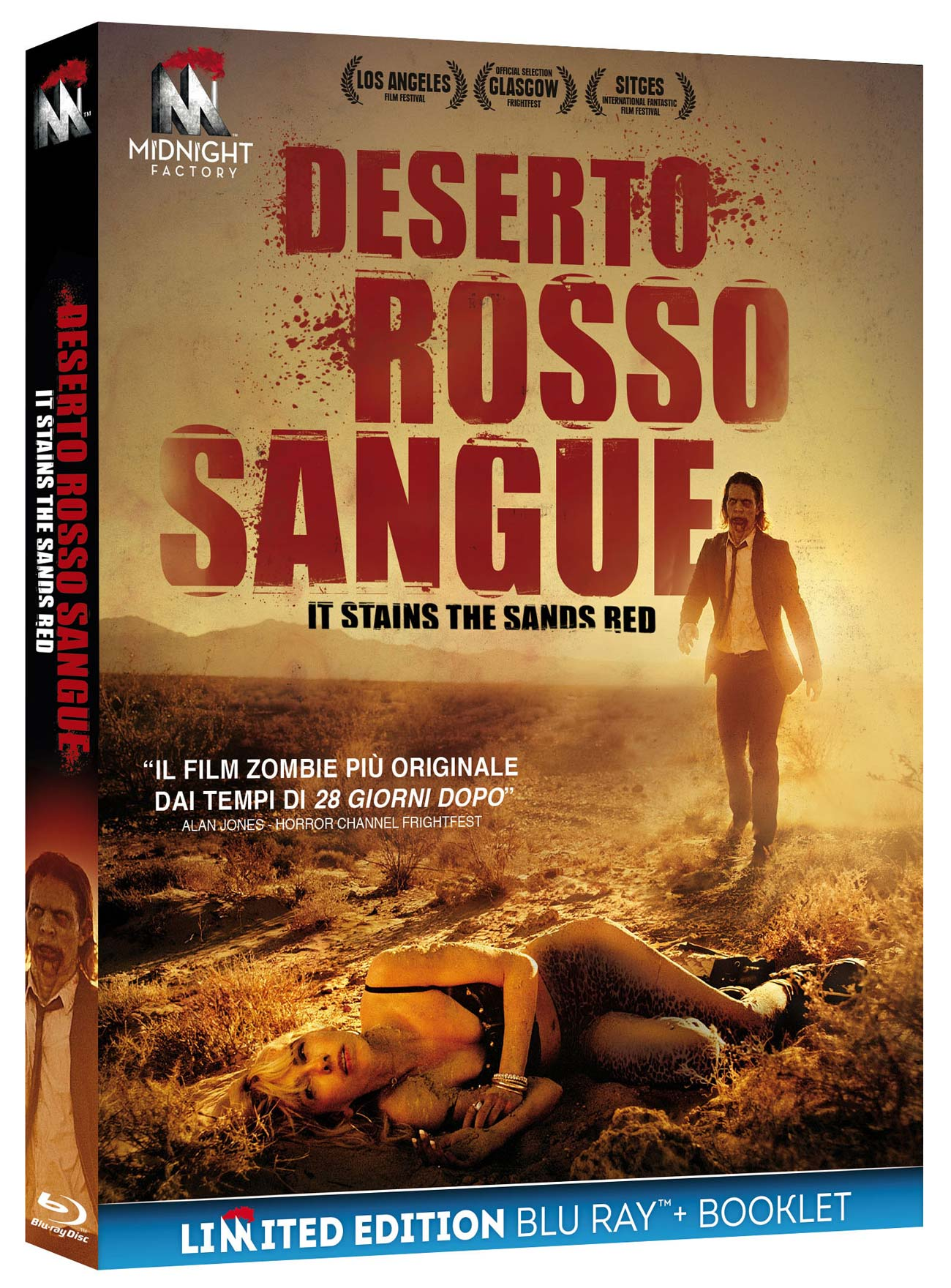 DESERTO ROSSO SANGUE (LTD EDITION) (BLU RAY +BOOKLET)